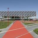 Vierendeel-Träger für die Adidas Arena von Behnisch Architekten.