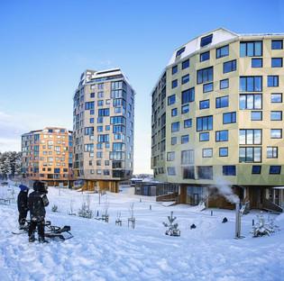 Türme aus Zement, Holz und Aluminium von Helen & Hard Architects