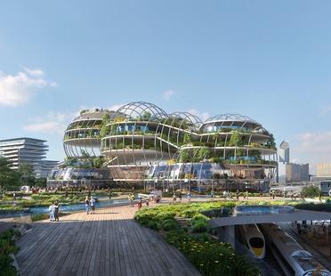 Geothermische Kathedrale für die Socio-Technical City der Zukunft von UNStudio