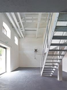 La Cartonnerie aus Ziegeln eine Sanierung von h2o architectes