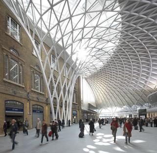 McAslans King's Cross Station aus Stahl und Glasplatten