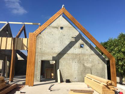 Holz und Terrakotta für ein Sozialzentrum in Cabourg von Lemoal Lemoal architectes
