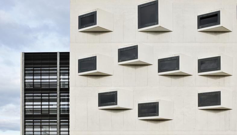 Universitätscampus aus Glas, Stahl und Beton von Dekleva Gregoric architects